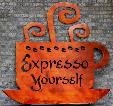 Coffee Wall Decor: Personalized Wall Decorations: Kitchen Art for Walls