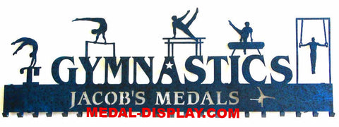 Number One Male Gymnastics Medal Holder-MEDAL-DISPLAY.COM