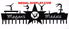How to display medals for gymnastics