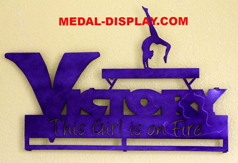 Gymnastics  Medals  Holder / Personalized Medal Display