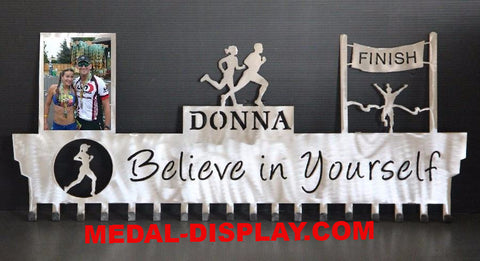 Premium Runner Medals Hanger, Best Personalized Running  Awards Display Online