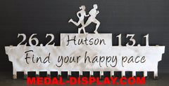 How to Display Medals, Running