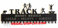Track- Relay-Sprinter- Running- Medal -Display