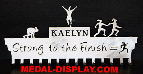 Track & Field- Relay- Sprinter- Medal Holder-MEDAL-DISPLAY.COM