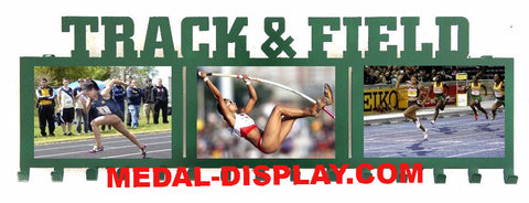 Track and Field Medals Hanger: Track Medal Display: Track & Field Medal Holder