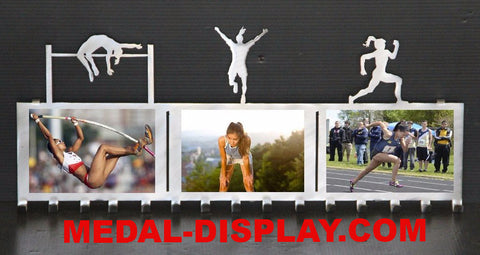 Buy Premium Track & Field Medal Holder, Multi Sport Awards Display | medal-display.com