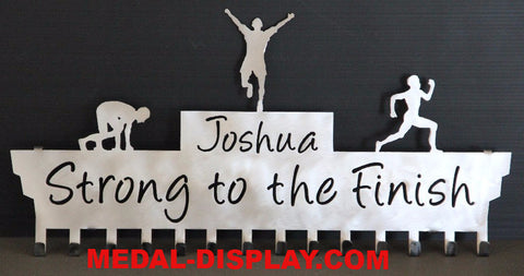 Runner Medals Holder-MEDAL-DISPLAY.COM-RUNNING-MEDALS-HANGER