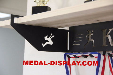 Track and Field Medal holder-MEDAL-DISPLAY.COM-MEDAL-HANGER