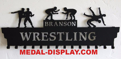 WRESTLING-MEDAL-DISPLAY-HOLDER-HANGER-MEDAL-DISPLAY.COM