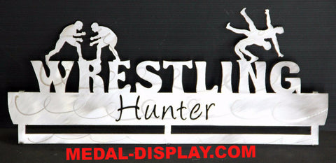 Wrestling Medal Display Holder