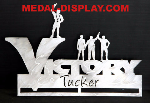 Wrestling Medals Display Rack: Personalized Medals Holder
