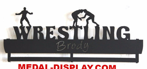 Wrestling Medals Display: Personalized Medals Holder Rack