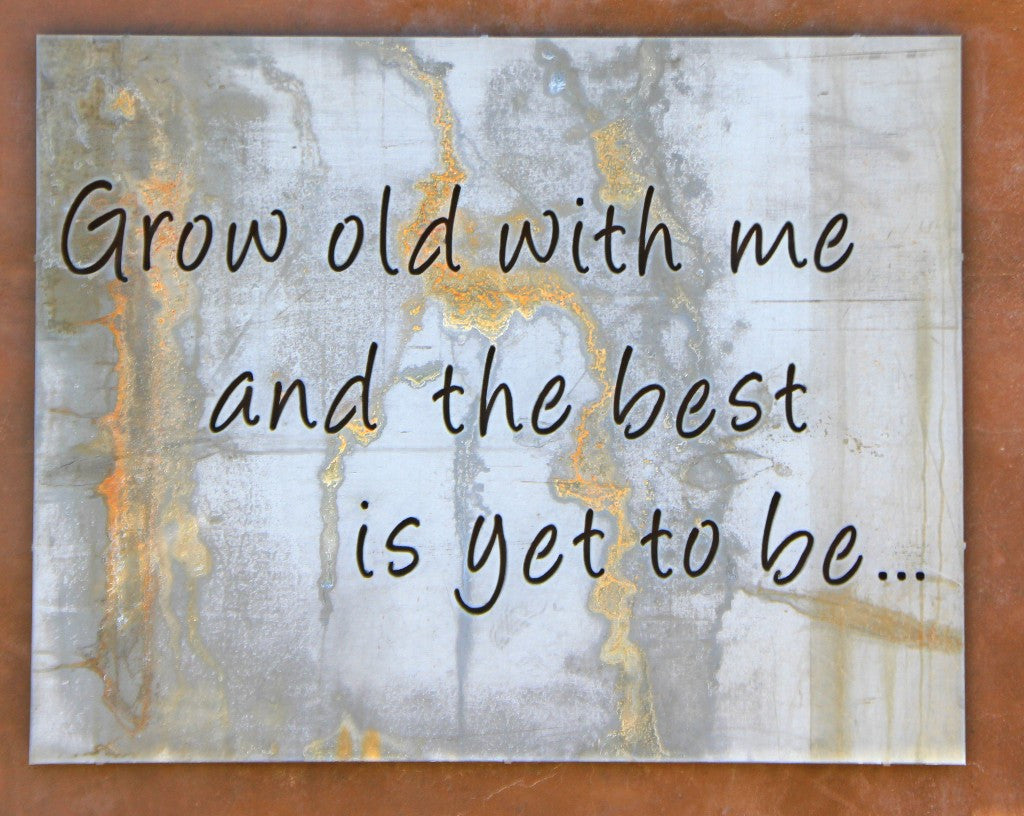 Marvelous Custom Metal Quote Sign Sayings Metalwork