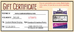 Gift Certificates so they can choose the product of their liking !!!