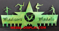 Gymnastics Medal Display-MEDAL-DISPLAY.COM