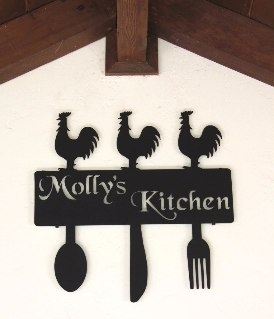 Rooster Wall Decor Kitchen Country Kitchen Decor Rooster Kitchen Wall Decor Personalized