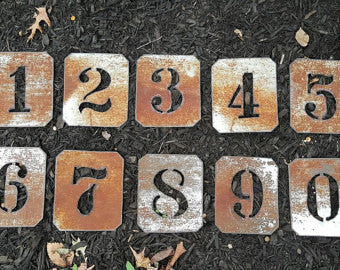 CUSTOM-CUT-METAL-STENCIL-NUMBERS AND-LETTERS