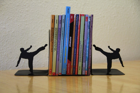 Martial Arts  Book End: Personalized Book  Display