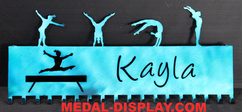 Gymnastic Medal Holder: Personalized Medals Display