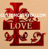 A Regal Metal Monogram Design that can be customized and personalized