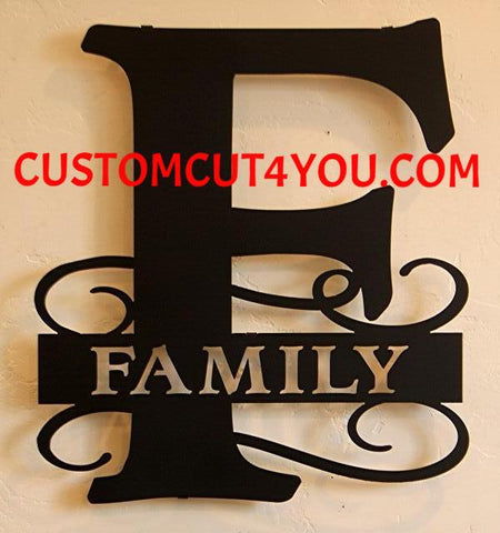 Shop The Largest Online Collection of Metal Monograms Made from Steel