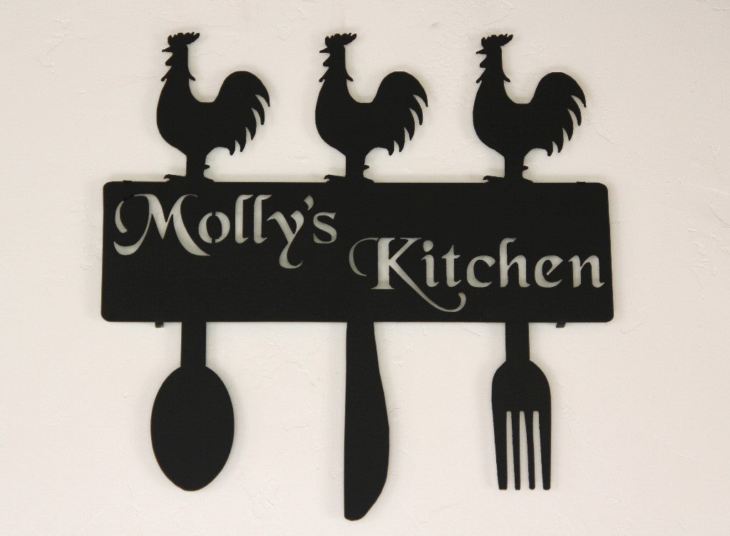 Country Kitchen Decor: Rooster Kitchen Wall Decor