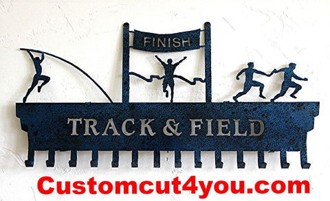Track & Field Medal Display - Top Rated Personalized Awards Holder | medal-display.com