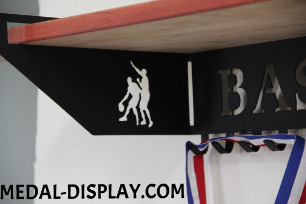 Football Trophy Shelf Trophy Shelf Personalized Medal