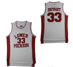 d8df176634e0 Kobe Bryant Lower Merion High School Jersey – Game-Day Gear Supply Co