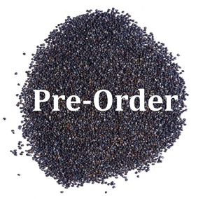 (PRE-ORDER) 5-Pounds Poppy Seeds England