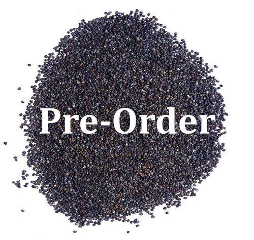 2-Pounds Poppy Seeds (Pre-Order Only)