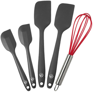 5 Piece Baron and Smith Silicone Spatula Set - englandpoppyseeds