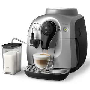 Philips 2100 Easy Cappuccino Silver (Store Display)