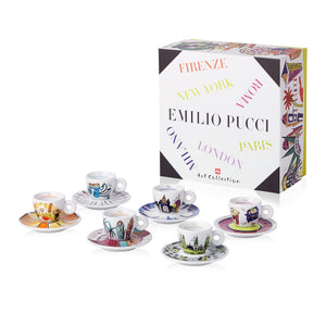 Illy - Emilio Pucci Espresso Cups Collection Set of 6