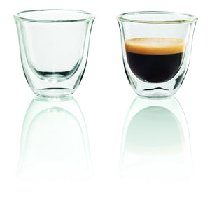 DeLonghi Espresso Double-Wall Glass Cups