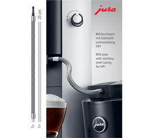 Jura Impressa Milk Pipe in Stainless Steel Casing HP3