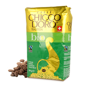 Chicco d'Oro Organic and Fair Trade Beans - Case of 5 kg