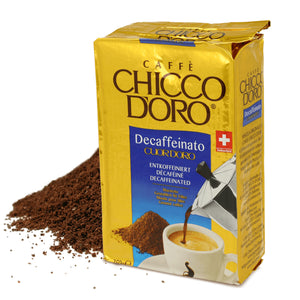 Cuor d'Oro Decaffeinated Ground Coffee
