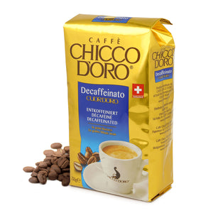 Cuor d'Oro Decaffeinated Beans - Case of 3 Kg