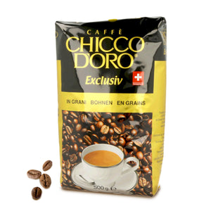 Chicco d'Oro Exclusiv Beans - Case of 5 Kg