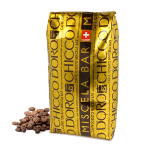 Chicco d'Oro Miscela Bar Beans - 2 Cases of 5 kg