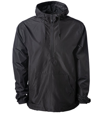 Men's and Women's Lightweight Hooded Pullover Windbreaker