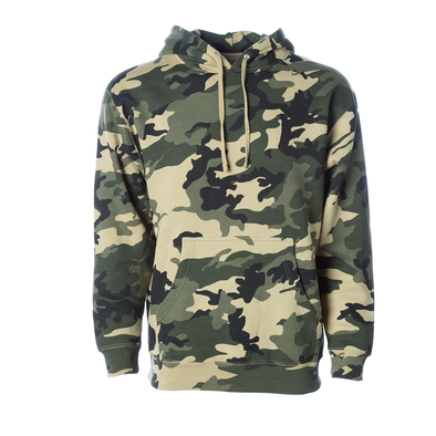 Classic Heavyweight Fleece Pullover Hoodie (Camouflage Collection)