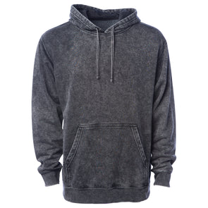Mineral Wash Fleece Pullover Hoodie