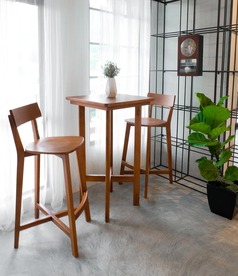 KONTUR BAR SET (1 TABLE + 2 CHAIRS)
