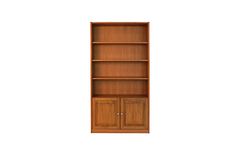 BOOKSHELF (WITH WOODEN DOOR)