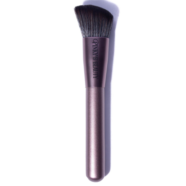 PB-02 - Angled Bronzer/Blush Brush - Pinky B Beauty