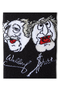 Men's Comic Socks, Black , cotton.