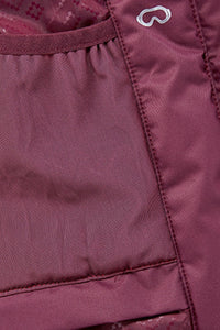 Women Ski Jacket, Berry Pink
