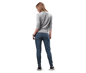 Women's Jogging Jeans, Blue Denim